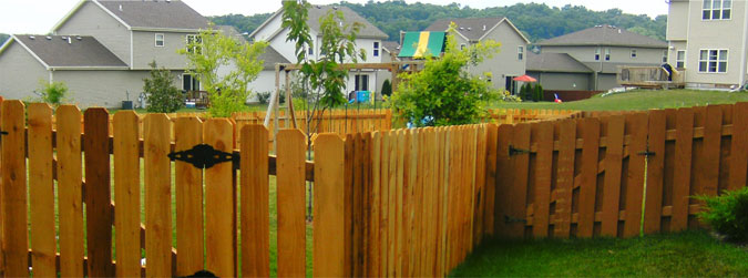Residential fencing in Madison, WI